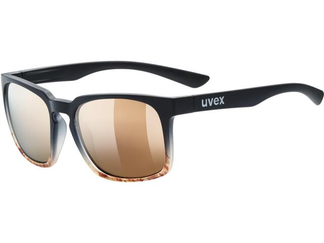 UVEX LGL 35 Colorvision Lifestyle Glasses black matt havanna/urban